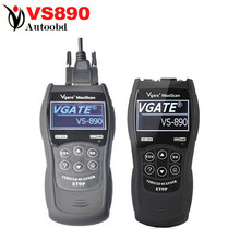 Buy 2016 VS890 OBD2 Code Reader Universal VGATE VS890 OBD2 Scanner Multi-language Car Diagnostic Tool Vgate MaxiScan VS890 for $39.40 in AliExpress store