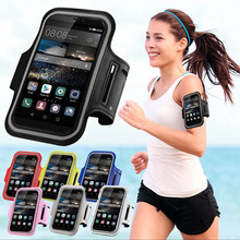 SPORTS GYM Armband Bag Case For Huawei Ascend P8 Lite Y365 P8 P7 620S Waterproof Running