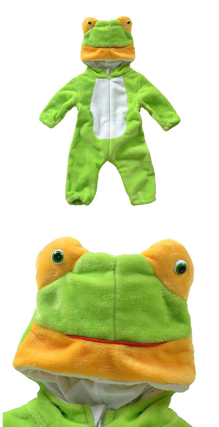 Скидки на Младенцы лягушка одежда комбинезон милый для фото