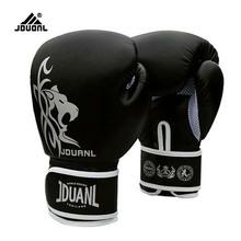 2015 New Male Female 10 oz PU Muay Thai Boxing Gloves Sanda Kungfu Wushu Women Men Fighting Sandbag Training luvas boxeo Guantes
