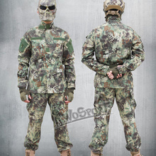 Buy ACU Military Camouflage Clothing Hunting Ghillie Suits Army Combat Tactical Airsoft Hunting Ghillie Suit Trainning Exercise Sets for $59.88 in AliExpress store