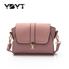Buy YBYT brand 2017 new fashion vintage soft PU leather women flap hotsale ladies evening bag mini shoulder messenger crossbody bags for $11.99 in AliExpress store