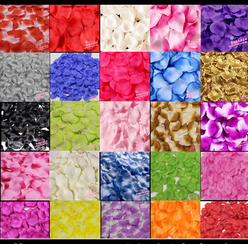 Free Shipping New 2015 Wholesale 1000pcs/lot Wedding Decorations Fashion Atificial Flowers Polyester Wedding Rose Petals patal(China (Mainland))