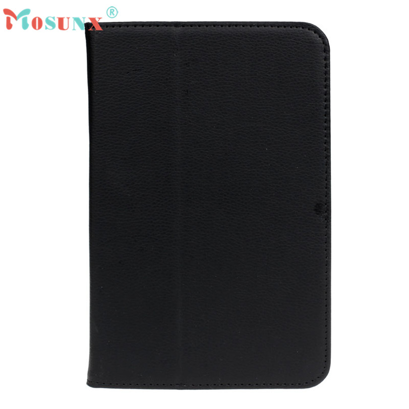 Hot-sale MOSUNX Foldable Tablet 7 inch Universal Leather Stand Case Cover For 7 Inch Android Tablet PC Gifts(China (Mainland))