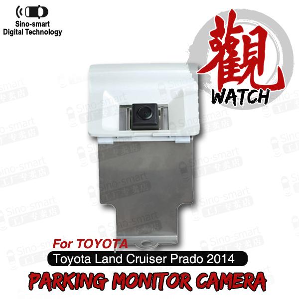 Free Shipping Wired HD CCD Car Parking Reversing Backup Camera for Toyota Land Cruiser Prado etc. Night Vision Waterproof(Hong Kong)