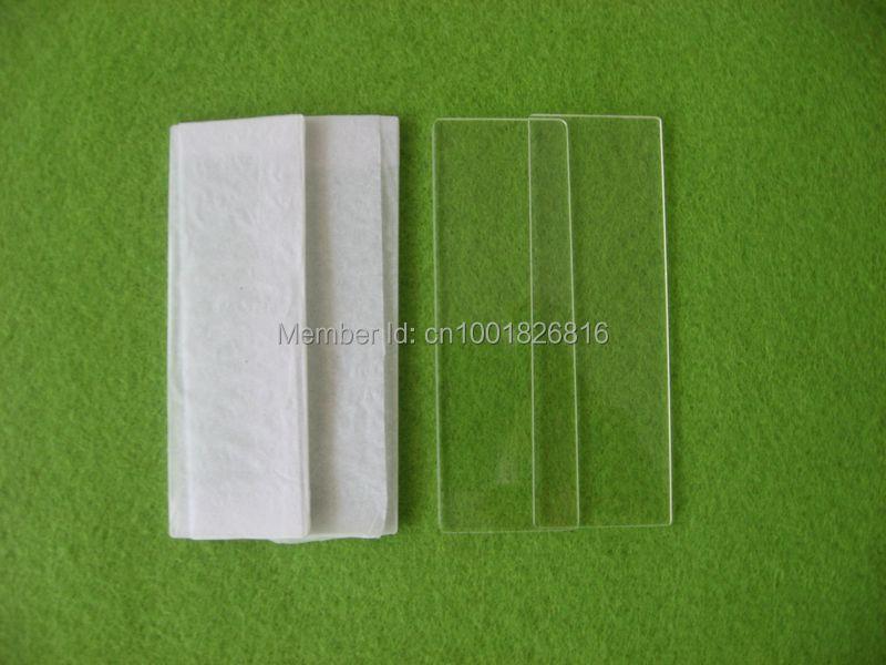 Lame de verre clair de quartz 75 25 2mm for Acheter plaque de verre
