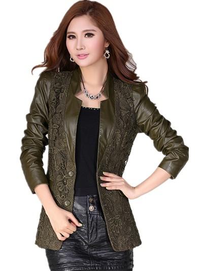 Женская одежда из кожи и замши Cute-C l/xl AL-W005 женская одежда из кожи и замши oem s m l xl