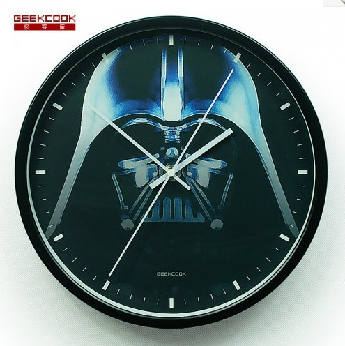 Darth Vader From Star Wars White Black Red Silver Metal