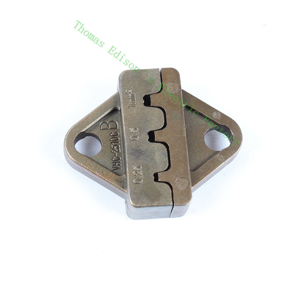 MINI EUROP STYLE crimping tool crimping plier 0.25-1mm2 Die Sets for SN-28B (one set )(China (Mainland))