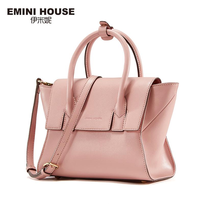 EMINI HOUSE 2016 Split Leather Trapeze Bag Fashion Wings Crossbody Bag Women Shoulder Bags Luxury Handbags Women Messenger Bags(China (Mainland))