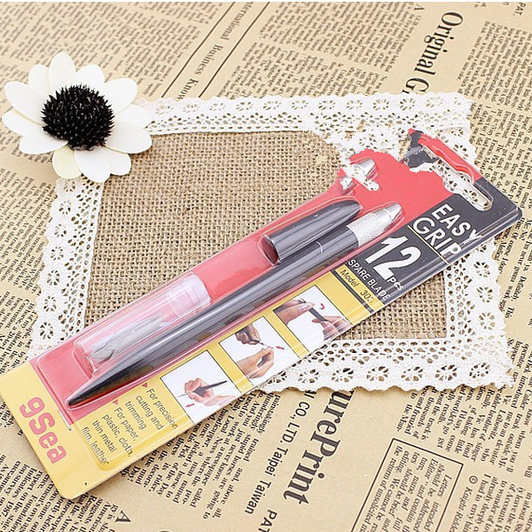 Retail Nine Sea Easy Grip 1Spare Blade Precision Cutting&Trimming Paper/Cloth/Plastic Leather - Graceful Stationery store