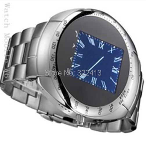 W6 New Century Phone Shape Watch Style Without A Digital Key Housing Material Metal Network