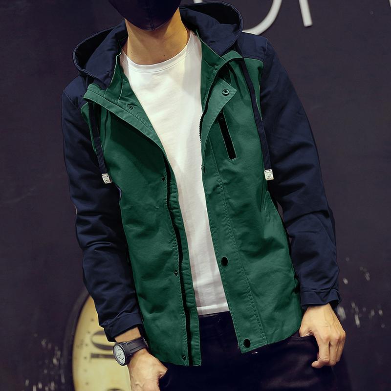 Military Jacket Men Casual Fashion Style Clothing Winter Jackets Wholesale Cool Windbreaker Thin Trench Coat Men #J06(China (Mainland))