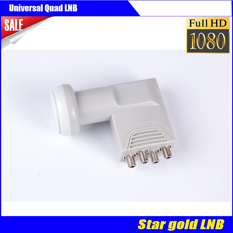 Extra high quality digital universal Quad LNB Satellite receiver Stargold LNB(China (Mainland))