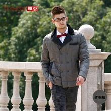 Men Business Slim Down Coats Jackets Men Down Parka Fashion Winter Coat Male Overcoat Outerwear YH506(China (Mainland))