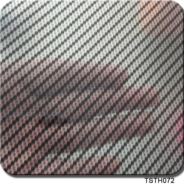 Car Sticker Transparent Film Nail Basecoat 1m Width 10Sq TSH072 Carbon Water Transfer Printing Film Hydrographic Film(China (Mainland))