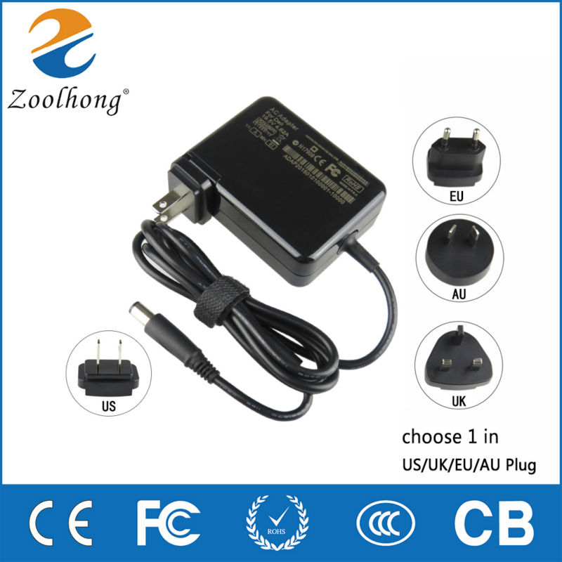 19.5V 4.62A AC Adapter FOR DELL Vostro A840,A860, 2521,3560,3350,2520,1088 Laptop Power Charger Supply 19.5V<br><br>Aliexpress