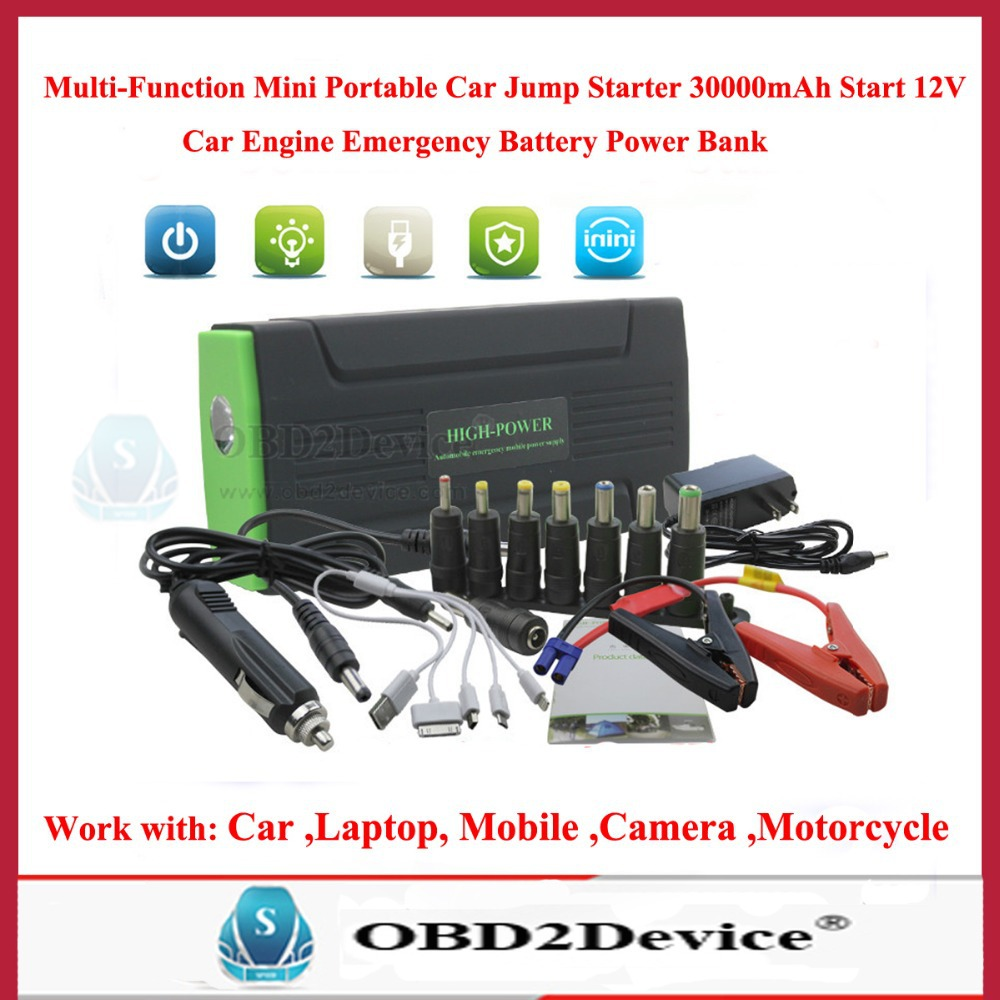 2014 Super Funcation Mobile Power Bank  Auto EPS Car Jump Starter Emergency Start Power Car Charger/Mobile Charger<br>