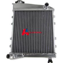 2 ROW CORE FULL ALUMINIUM RADIATOR FOR CLASSIC MINI 1959-1992 HI FLOW MT1959-91 AUTO Replacement Parts Radiator High Quality(China (Mainland))