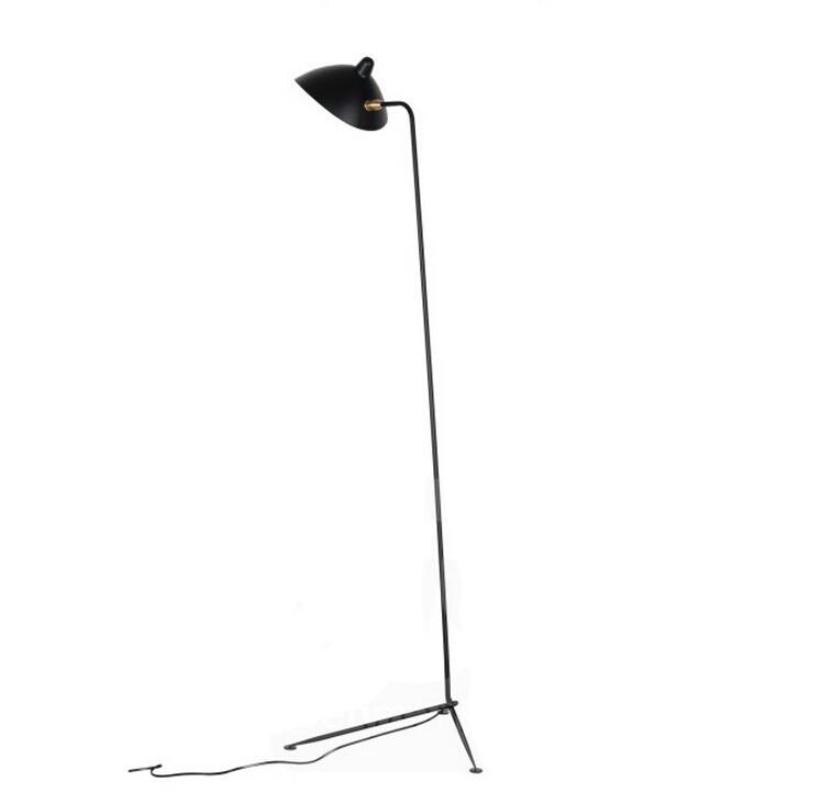 Купить Чердак Торшер Черный Металл Гостиная Офис Стоячей Световой Италия Дизайнеров Утюг Tirpod Пол Свет Проект Освещения