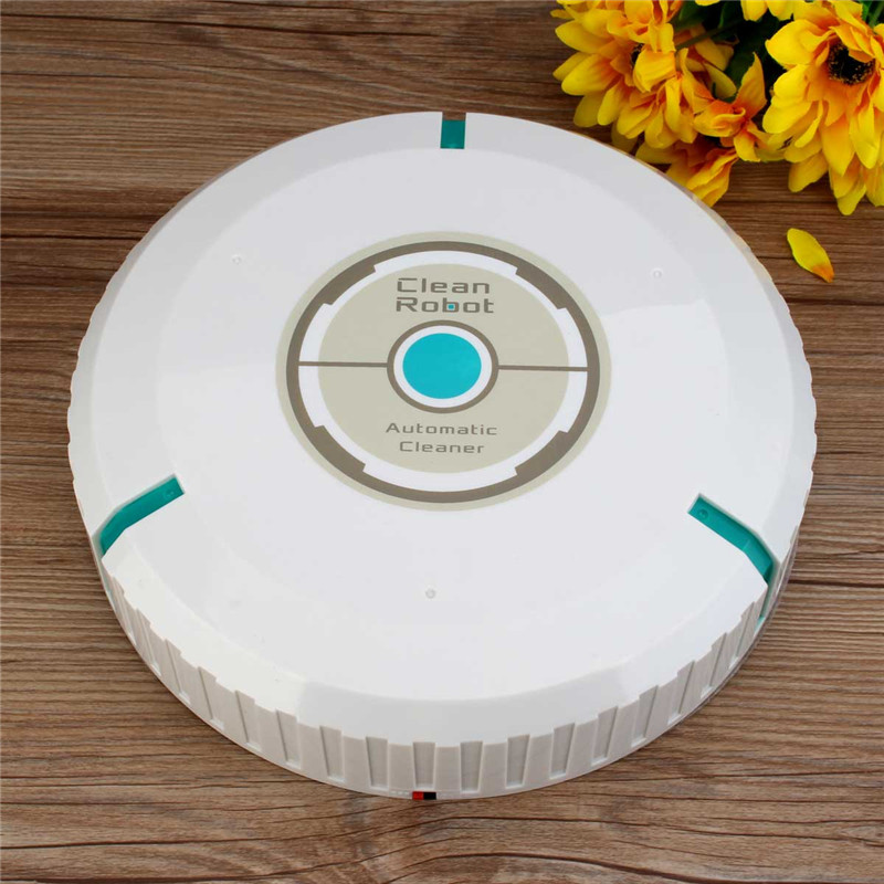 Sweeper Robot Vacuum Cleaner Robot Home Smart Electric Wiping Machine Automatic Ultra-quiet Microfiber Mop Vacuum Cleaner White(China (Mainland))