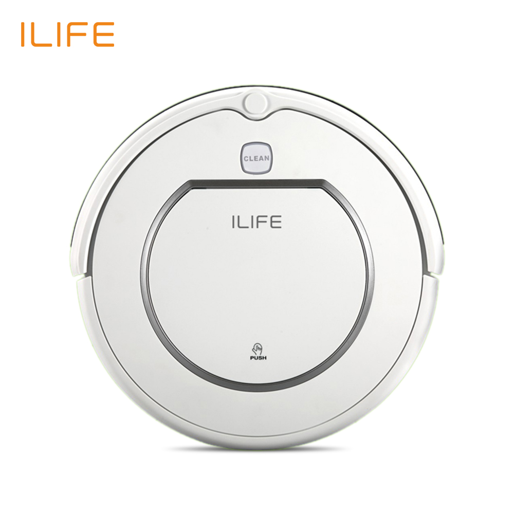 Brand New ILIFE V1 Robot Vacuum cleaner 500Pa Power Suction Automatic Intelligence Sweeper Cliff Sensor Efficient HEPA Cleaning(China (Mainland))