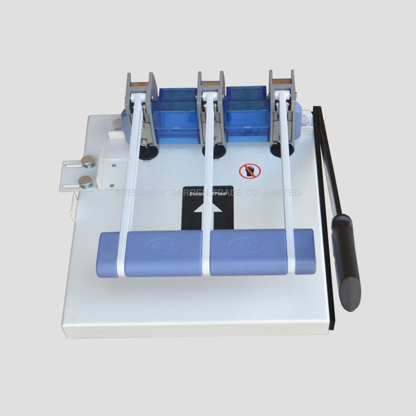 Buy 2PC Heavy Duty Ream Guillotine A4 Size Stack Paper Cutter Paper Cutting Machine,punching machine with knife cheap