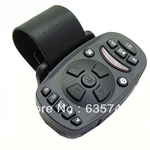 Universal Steering Wheel Remote Control for Automobile Car Audio CD DVD GPS Free Shipping(China (Mainland))