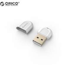 ORICO White Color Mini USB Bluetooth 4.0 Adapter for Notebook Desktop PC- Black (BTA-408-WH)