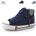 2017 New Kids Classic Canvas Shoes Children Spring Autumn Casual Jeans Plimsolls Student Boys Girls Boots