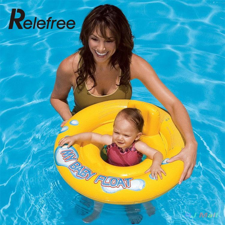 Cute Inflatable Swimming Pool Floats Baby Child Underarm Thicker Safety Pool Swim Ring Raft Float Summer Inflatable Pool Toys(China (Mainland))