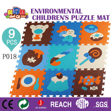 MEIQIKU brand 30*30*1cm Educational Baby play Mat Puzzle Environmental Non-toxic Crawling Mat Kids Gym Play Mat Educational(China (Mainland))