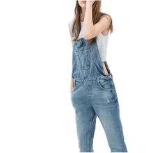 Jeans Woman Overalls 2016 New Summer Autumn Denim Jumpsuits Ladies Girls Long Pants Casual Women Rompers Bib Overalls Suspenders