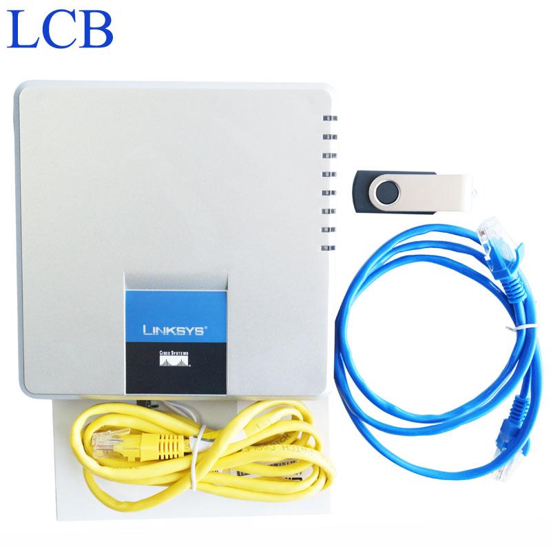 Wholesale 10pcs/lot Unlocked LINKSYS SPA400 4 FXO Phone Adapter Internet Telephone adapter with DHL(China (Mainland))