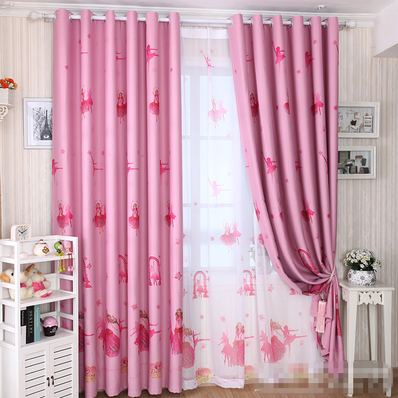 Roze tule gordijnen koop goedkope roze tule gordijnen loten van chinese roze tule gordijnen - Kamer gordijnen kind ...