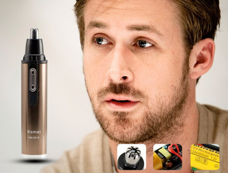 hot sale 2015 fashion men ear nose neck face eyebrow hair beard shaver trimmer clipper remover. Black Bedroom Furniture Sets. Home Design Ideas