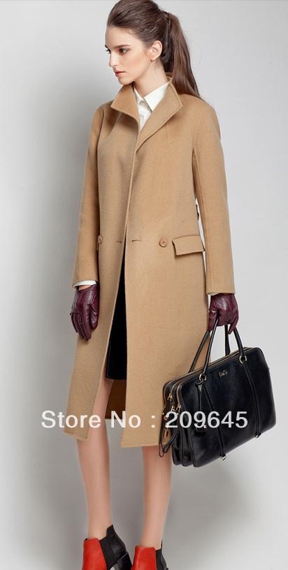 Camel Wool Trench Coat Photo Album - Reikian