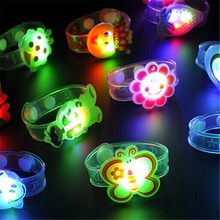 Cartoon LED Night Light Lamp Party Christmas Decoration Colorful Night Lights Led Lamp For Kids Baby Gifts Random Shipping(China (Mainland))