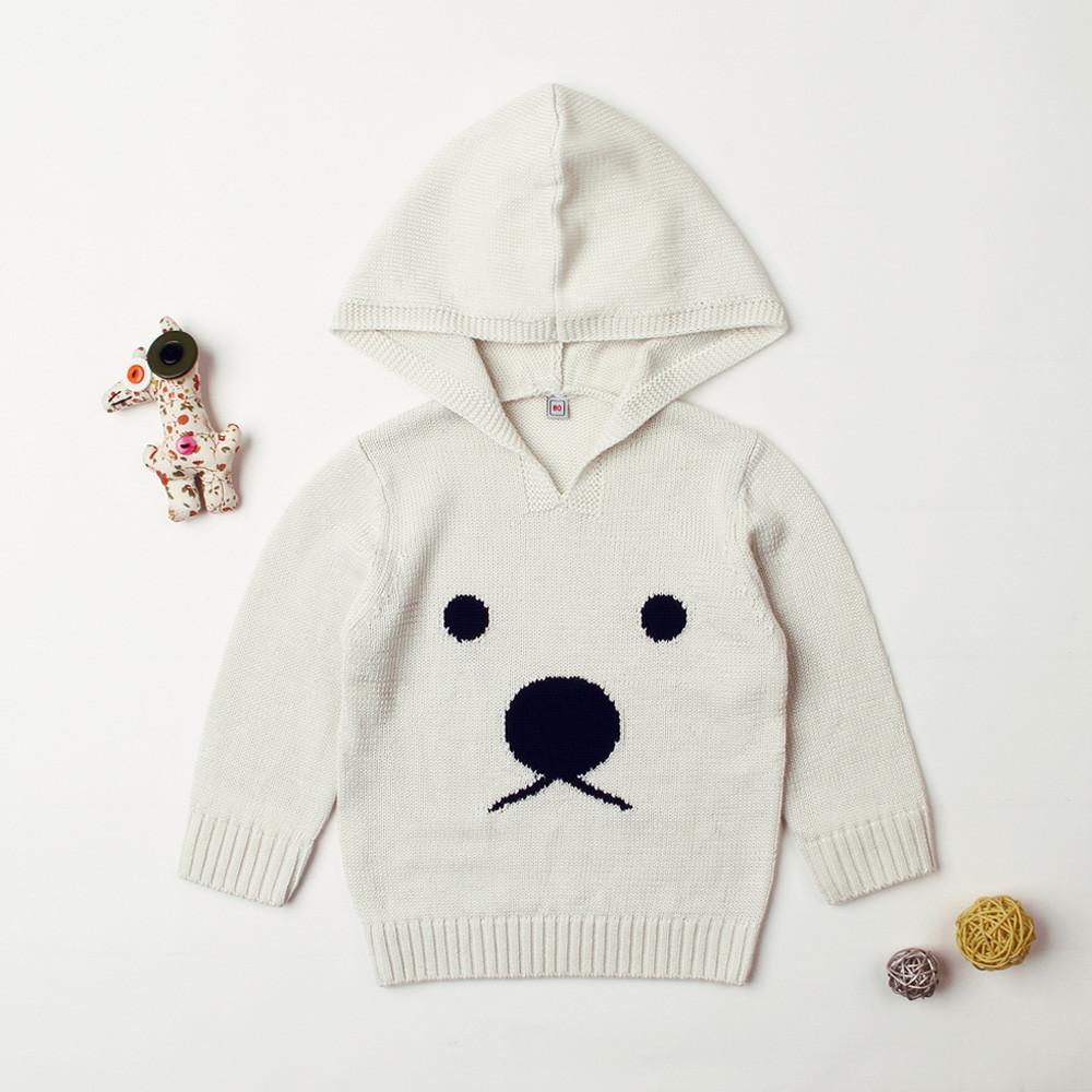 Compre Otoño Lindo Patrón De Animales Suéter Para Bebé Recién Nacido ...