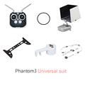 DJI Phantom 3 Camera protective Plate set Universal suit Camera protective film Remote Sticker Sling light