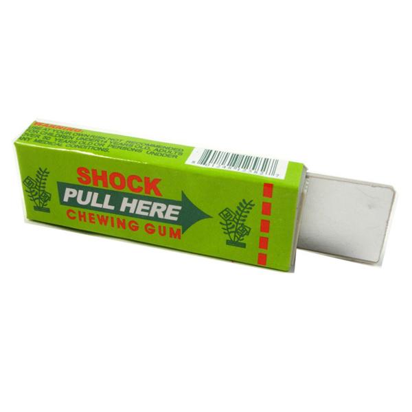 Shocking Toy Gift Gadget Safety Electric Shock Joke Chewing Gum Prank Trick(China (Mainland))