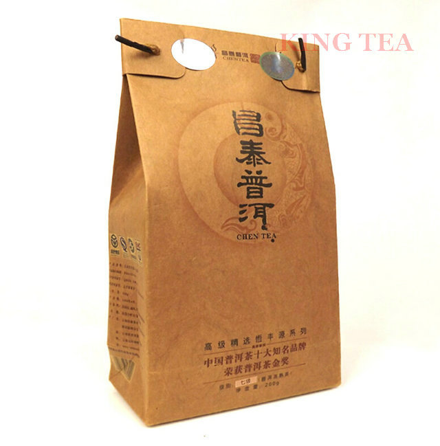 2008 ChangTai 200g Loose Leaf YunNan Organic Pu er Ripe Tea Weight Loss Slim Beauty Cooked
