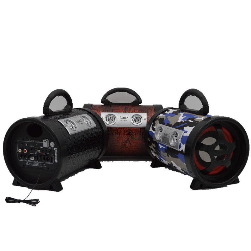Car wireless bluetooth music portable loud speaker active audio sound system(China (Mainland))