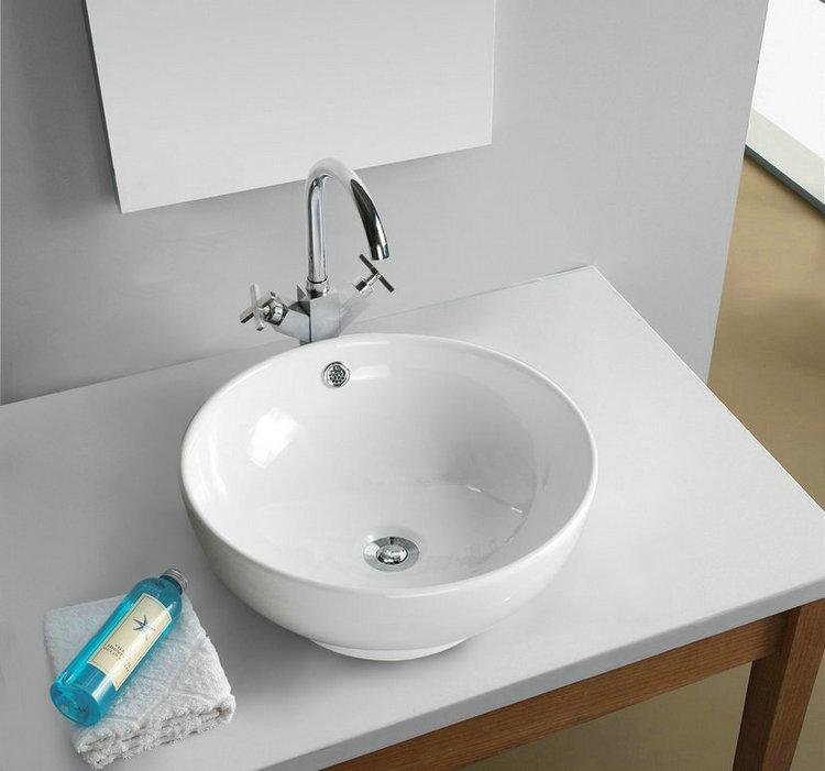 Td3006 cerâmica pia do banheiro navio bacia redonda lavatório do banheiro bac -> Pia De Banheiro Em Ingles