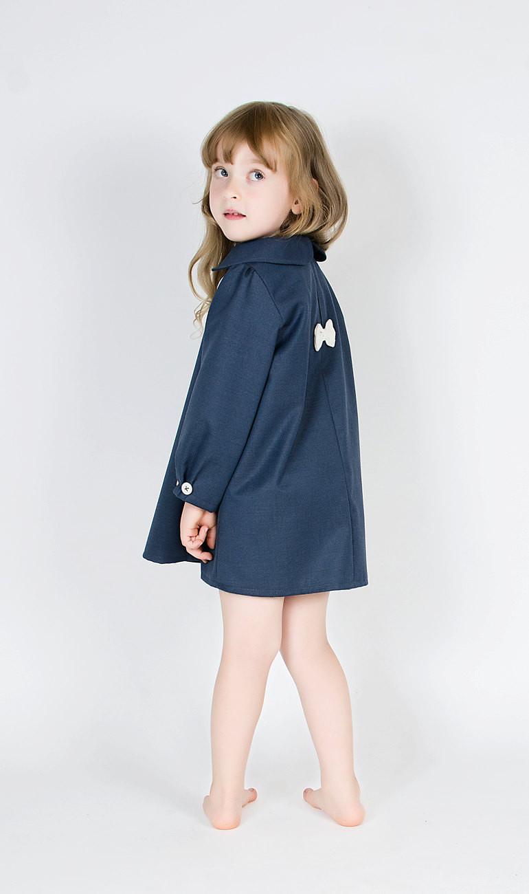 Скидки на Новое поступление 2015 дети девочки пальто платья девочка осень мода платье девушка с бантом платье принцессы детская оптовая продажа одежда