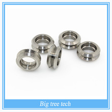 3pcs Reprap Openbuilds V type wheel without Bearings Bore 5mm Stainless steel Metal Double V Pulley