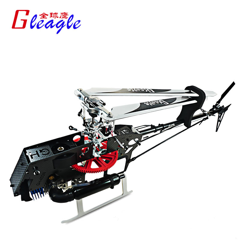 Promotion 480N oil RC nitro Heli flybarless Unassembled Frame kit for 480N RC Nitro helicopter with Engine + exhaust muffler(China (Mainland))