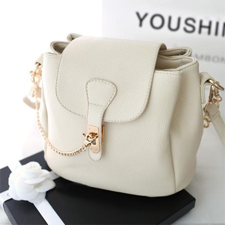 women messenger bags bucket chain Bags 2015 women's handbag fashion all-match bucket shoulder bag messenger white bucket handbag(China (Mainland))