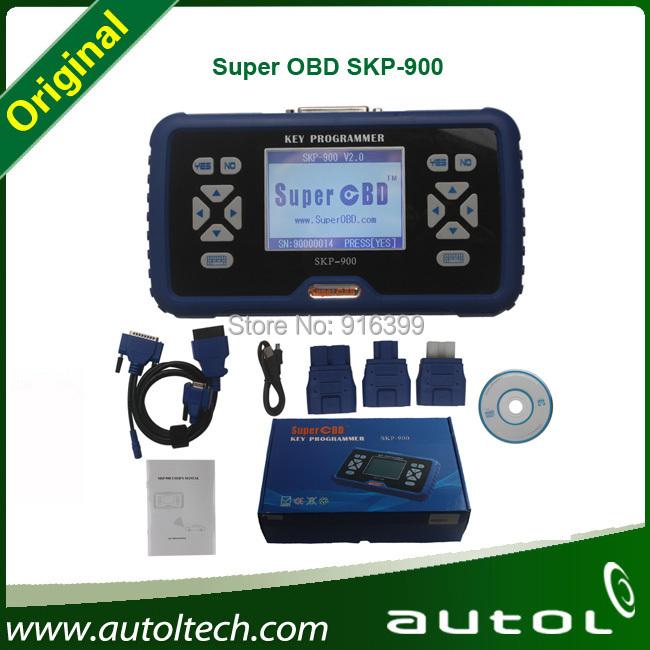 New version SuperOBD SKP-900 Hand-held OBD2 car Key Programmer V2.3 Released auto smart locksmith tools(China (Mainland))