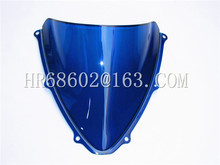 Buy Freeshipping Suzuki GSXR 600 750 R gsxr 600 750 r K6 2006 2007 k6 06 07 Blue Windshield WindScreen Double Bubble for $13.82 in AliExpress store